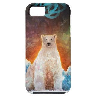 Funda Para iPhone SE/5/5s Polarbear trenzado
