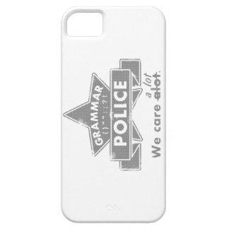 Funda Para iPhone SE/5/5s Policía de la gramática