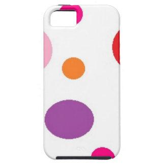 Funda Para iPhone SE/5/5s polkadots