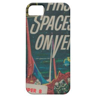 Funda Para iPhone SE/5/5s Primera nave espacial en la película del Scifi del