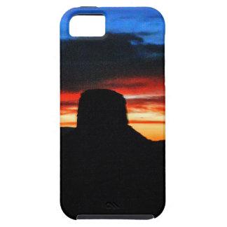 Funda Para iPhone SE/5/5s Puesta del sol, valle del monumento, UT