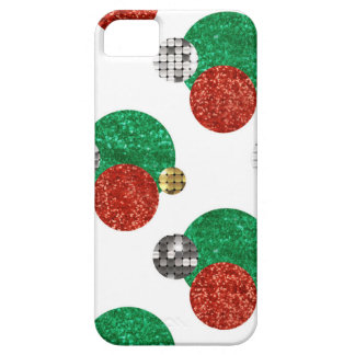 Funda Para iPhone SE/5/5s puntos del navidad de la lentejuela