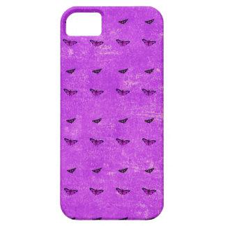 Funda Para iPhone SE/5/5s Púrpura de la impresión de la mariposa