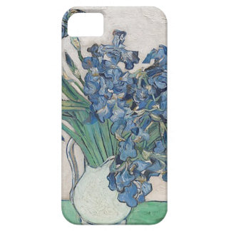 Funda Para iPhone SE/5/5s Ramo de flores en sombra azul