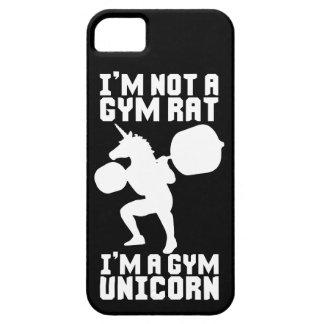 Funda Para iPhone SE/5/5s Rata del gimnasio contra el unicornio del gimnasio