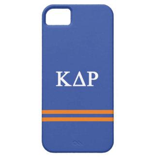 Funda Para iPhone SE/5/5s Raya del deporte de rho el | del delta de Kappa