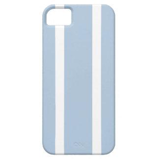 Funda Para iPhone SE/5/5s ¡Rayas azules y blancas elegantes!