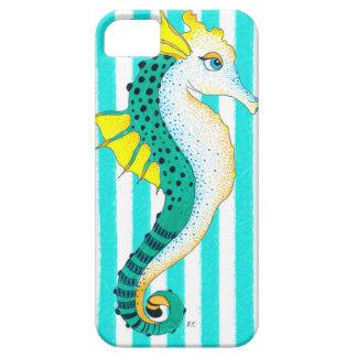 Funda Para iPhone SE/5/5s rayas del trullo del seahorse