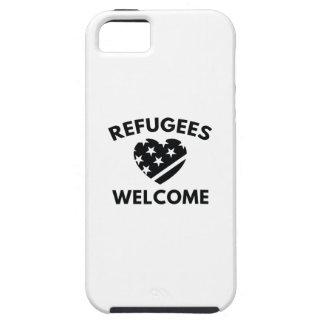 Funda Para iPhone SE/5/5s Recepción de los refugiados