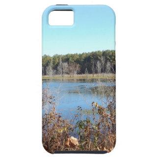 Funda Para iPhone SE/5/5s Refugio de aves del lago sams