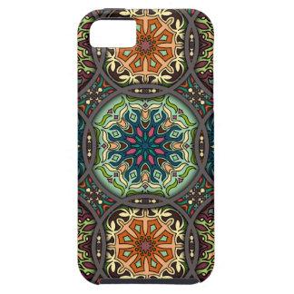 Funda Para iPhone SE/5/5s Remiendo del vintage con los elementos florales de
