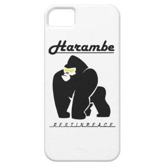 FUNDA PARA iPhone SE/5/5s RESTO DE HARAMBE EN CAMISETA DE LA PAZ