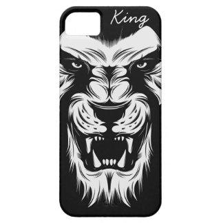 Funda Para iPhone SE/5/5s rey Case del león del iPhone, moderno