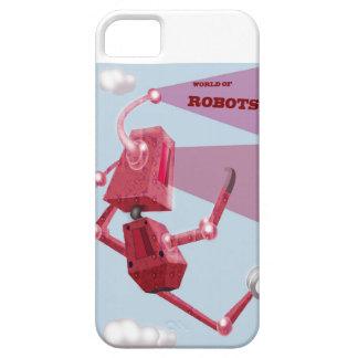 Funda Para iPhone SE/5/5s Robots