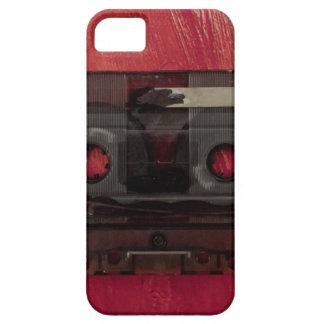 Funda Para iPhone SE/5/5s Rojo del vintage de la música de la cinta de