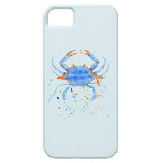 Funda Para iPhone SE/5/5s Salpicadura de la pintura del cangrejo azul de la