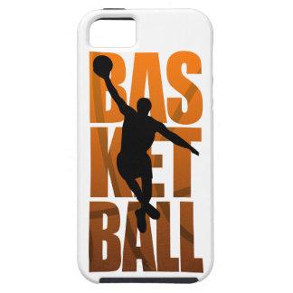 Funda Para iPhone SE/5/5s Salto de Basketballer del jugador de básquet