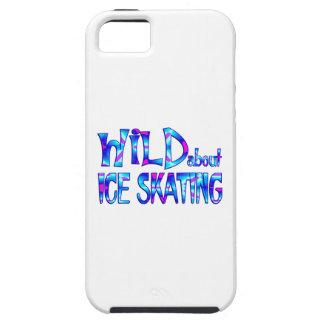 Funda Para iPhone SE/5/5s Salvaje sobre el patinaje de hielo