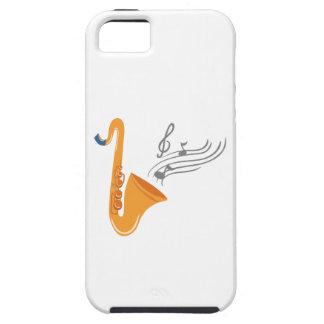 Funda Para iPhone SE/5/5s Saxofón del saxofón de Saxophon