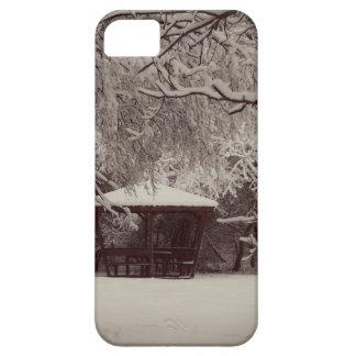 Funda Para iPhone SE/5/5s SE de SilenciPhone del invierno + iPhone 5/5S,