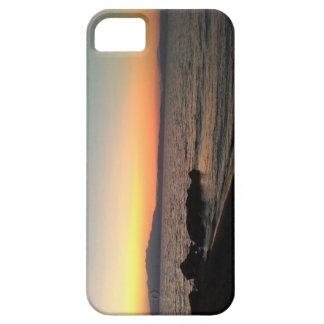 Funda Para iPhone SE/5/5s SE del iPhone del mar de la puesta del sol +