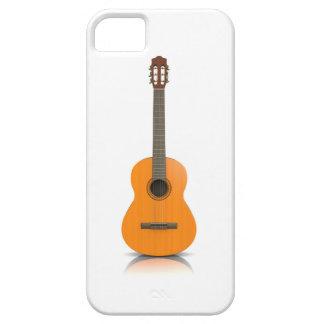 Funda Para iPhone SE/5/5s SE del iPhone + guitarra clásica del caso del