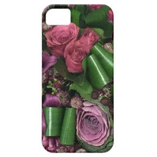 Funda Para iPhone SE/5/5s SE del iPhone + iPhone 5/5S, rosa y flores de la