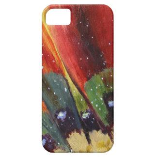 Funda Para iPhone SE/5/5s SE floral del iPhone del arte + iPhone 5/5S,