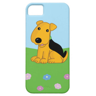 Funda Para iPhone SE/5/5s SE lindo del iPhone del perro de Airedale + caso