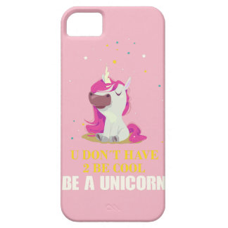 FUNDA PARA iPhone SE/5/5s SEA UN UNICORNIO