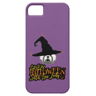 Funda Para iPhone SE/5/5s Señora loca Shih Tzu Mom de Halloween Shih Tzu