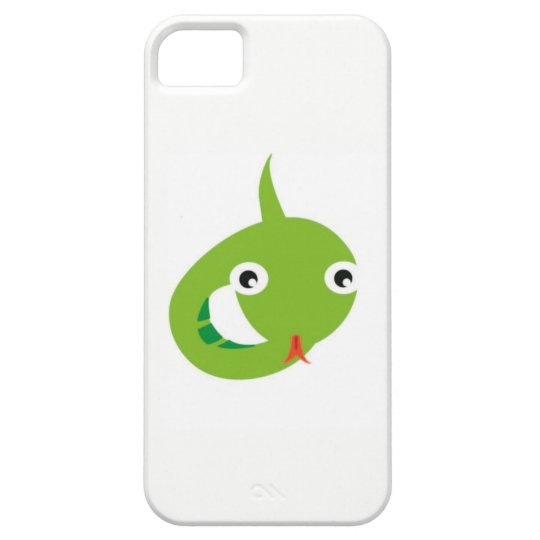 Funda Para iPhone SE/5/5s serpiente verde
