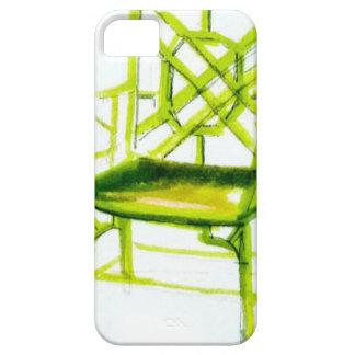 Funda Para iPhone SE/5/5s silla del chinoiserie para la tarjeta del lugar