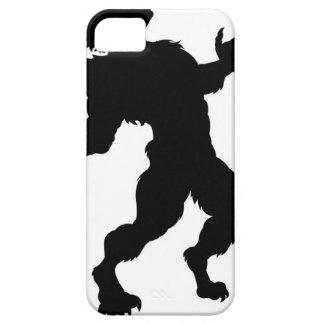 Funda Para iPhone SE/5/5s Silueta del hombre lobo