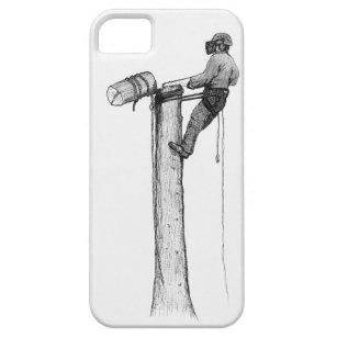 Funda Para iPhone SE/5/5s Silvicultor del arborista del cirujano de árbol