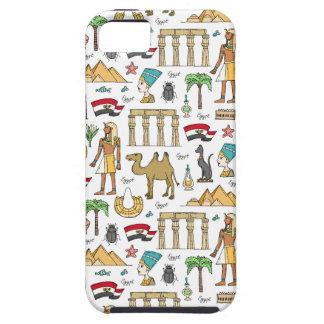 Funda Para iPhone SE/5/5s Símbolos del color del modelo de Egipto