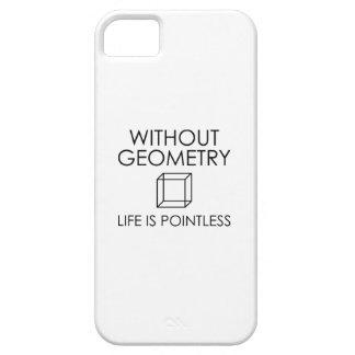 Funda Para iPhone SE/5/5s Sin geometría la vida es insustancial