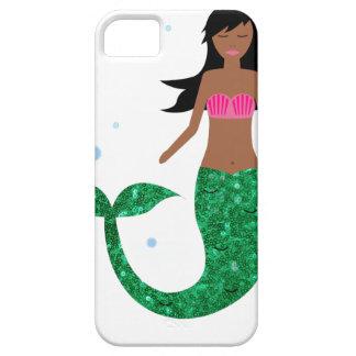 Funda Para iPhone SE/5/5s sirena afroamericana