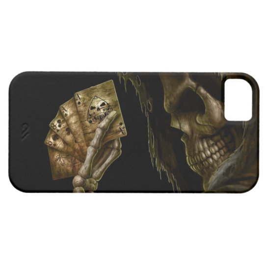 Funda Para iPhone SE/5/5s Skull Poker