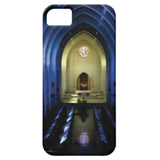 Funda Para iPhone SE/5/5s sombras de la iglesia azul marino