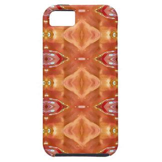 Funda Para iPhone SE/5/5s Sombras del diseño festivo moderno del melocotón
