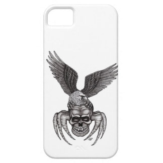 Funda Para iPhone SE/5/5s Spiderskull con Eagle