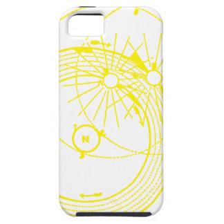 Funda Para iPhone SE/5/5s Sun y astronomía inquisitiva de las órbitas de la