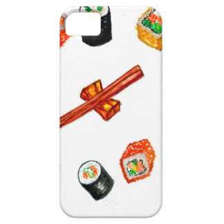 Funda Para iPhone SE/5/5s Sushi Watercolor2 determinado
