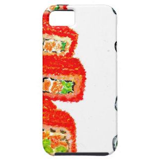 Funda Para iPhone SE/5/5s Sushi Watercolor3 determinado