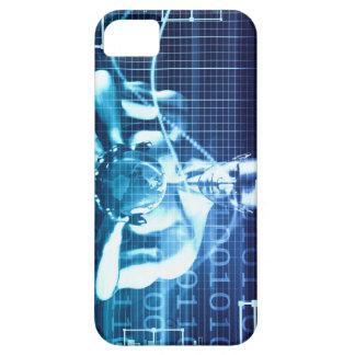Funda Para iPhone SE/5/5s Tecnologías integradas en un concepto llano global