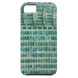 Funda Para iPhone SE/5/5s tejas azules del trullo