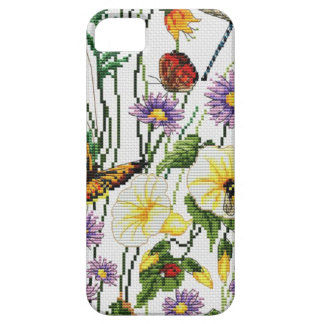 Funda Para iPhone SE/5/5s Teléfono bordado   floral 5/5S, Barely There