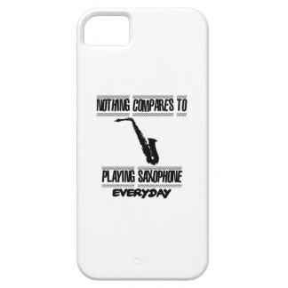 Funda Para iPhone SE/5/5s Tender diseños del saxofón