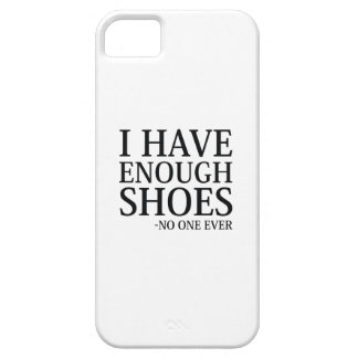 Funda Para iPhone SE/5/5s Tengo bastantes zapatos